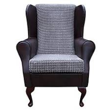 small westoe wingback armchair in a mink jumbo cord luxury velvet