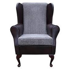 Small Fabric Armchairs Small Westoe Wingback Armchair In A Mink Jumbo Cord Luxury Velvet