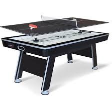 air hockey table walmart nhl 80 inch air powered hover hockey table with bonus table tennis