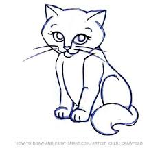 cat drawing free download clip art free clip art on clipart
