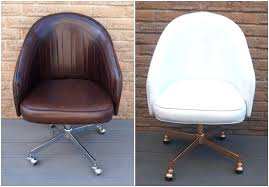 Diy Desk Chair Diy Desk Chair View In Gallery Leather Chair Before And After The