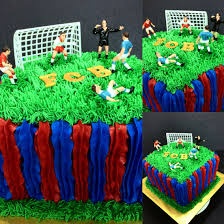 fc barcelona inspired cake last minute commission luckily it was