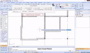 draw corner window in plan drawing architectural design tutorial