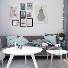 deco avec canapé gris salon gris scandinave
