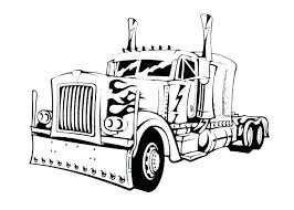 truck coloring pages color printing sheets free u2013 vonsurroquen me