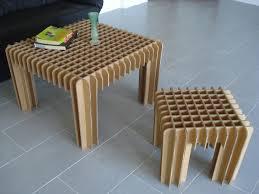 how to design furniture cardboard furniture for table idea ideas pinterest cardboard