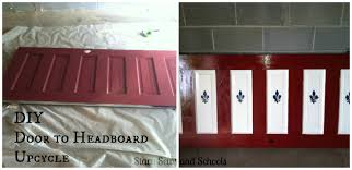 Making Headboards Out Of Old Doors by Stacy Sews And Schools Diy Door To Headboard Upcycle