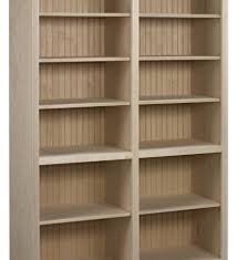 pine bookcase 4 deep shelves antique finish traditional deep