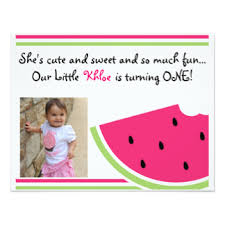 watermelon invitations u0026 announcements zazzle canada
