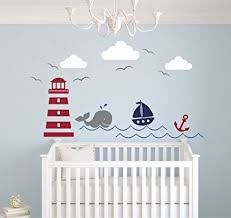 Wall Decals For Baby Nursery Nautical Theme Wall Decal Nautical Decor Nursery
