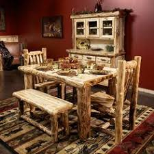 we offer this handcrafted amish log bar stool with back and other
