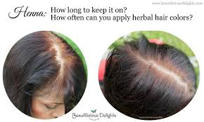 Can You Black With Color Henna How To Keep It On How Often Can You Apply Herbal Hair
