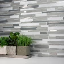Adhesive Kitchen Backsplash Peel And Stick Kitchen Backsplash Smart Tiles