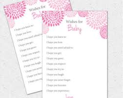 well wishes i you baby shower printable