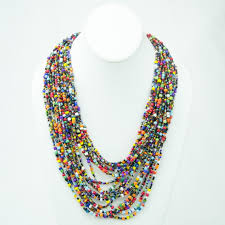 bead necklace images images Multi color strand maasai bead necklace 472 106 jpg