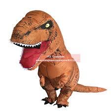 inflatable t rex costumes dinosaur fancy dress for kid men