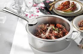 cristel cuisine cristel s casteline collection stainless saucepans cookware cristel