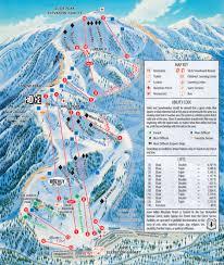 Green Circle Trail Map California Ski Maps Snow Valley Ski Resort Trail Map