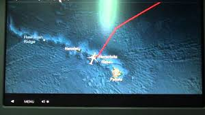 Air Canada Flight Map by Air Canada Inflight Map Youtube