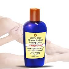 amazon com best organic sunless tanning lotion natural