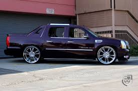 cadillac escalade custom cadillac escalade ext luxury pickup truck restyled by lexani