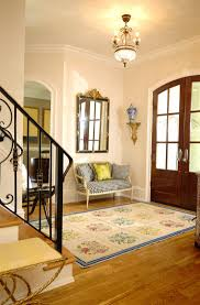 elegant foyer benches furniture entryway ideas gallery colorful