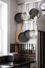Magnet For Kitchen Knives Short On Space Stylish Ways To Store Pots U0026 Pans Magnetic Knife