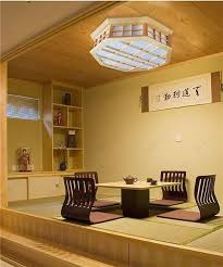 Japanese Ceiling Light Best Japanese Style Indoor Lighting Ceiling Lights Washitsu Tatami