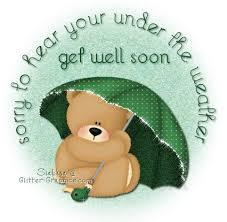 feel better bears get well soon glitter graphics glitter text get well soon