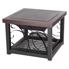 Rectangle Fire Pit Table Fire Sense 28 In Square Convertible Fire Pit Table Hammertone