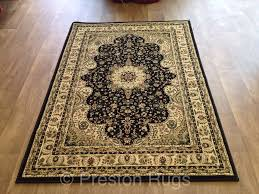 Ebay Antique Persian Rugs by Rug Runner Traditional Persian Design Black Cream Gold Small