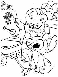 lilo teach stitch lilo u0026 stitch coloring download