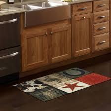 Kitchen Throw Rugs Mainstays Texas Cowboy Kitchen Rug Walmart Com