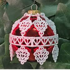 machine embroidery designs k lace ornament covers