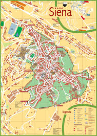 Genoa Italy Map by Siena Tourist Map