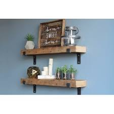 reclaimed wood wall table reclaimed wood wall shelf wayfair