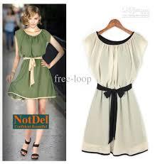 womens dresses ladies ruffles green chiffon mini dress evening