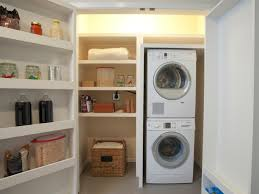 Small Laundry Room Decor Exciting Small Laundry Room Ideas With Stacked Washer Dryer Tedx