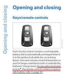 bmw e90 battery non comfort access key battery