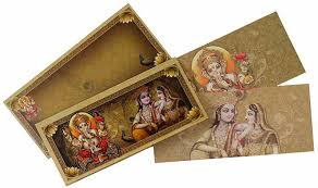 wedding cards india online hindu wedding card with god images wedding invitations