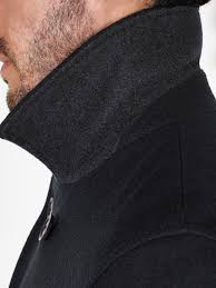 john lewis 2 in 1 double breasted peacoat in blue for men lyst