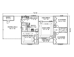 floor plan of a three bedroom bungalow kenya home combo