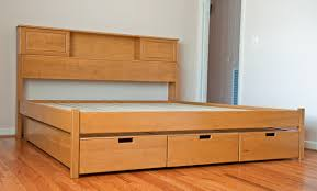 King Size Platform Bed Woodworking Plans by Finnwood Designs Is The Place For Your Custom Platform Bed
