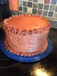 three layer chocolate cake the sweet things queen