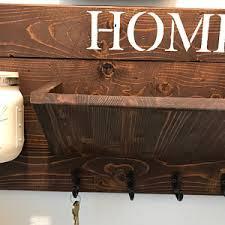 Decorative Key Racks For The Home Rustic Decor Mail Holderhome Decor Key Rackhome Sign Mail