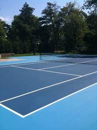 hinding tennis courts tennis court construction court repair