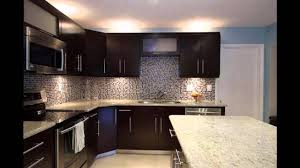 Kitchen Backsplash Ideas For Dark Cabinets Dark Kitchen Cabinets Youtube
