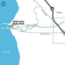 Provo Utah Map by Publications Utah State Parks