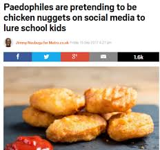 Chicken Nugget Meme - how to protect children from chicken nugget related sex offences
