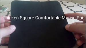 Comfortable Mouse Thicken Square Comfortable Mouse Pad Youtube